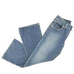 Levi's Low Rise Flare Jeans Sz 12M Stretch Pockets